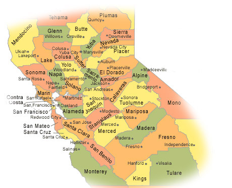 We Serve The Following Counties